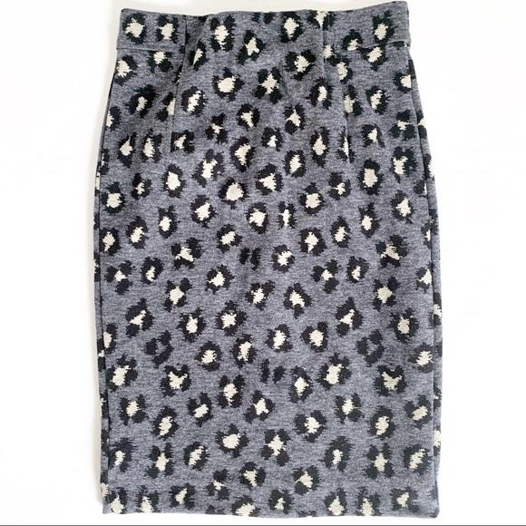 LOFT Dresses & Skirts - Loft Petites Leopard Print Pencil Skirt